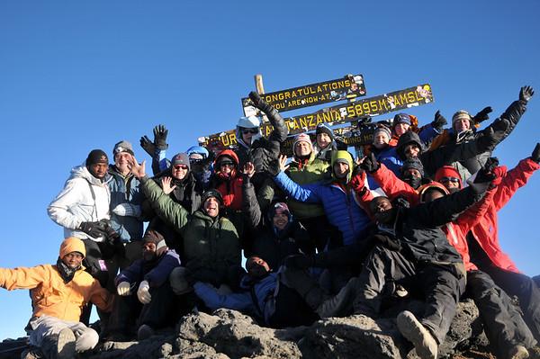 Kilimanjaro June 15-20, 2011