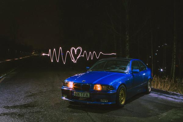 BMW e36 318i // Kristjan