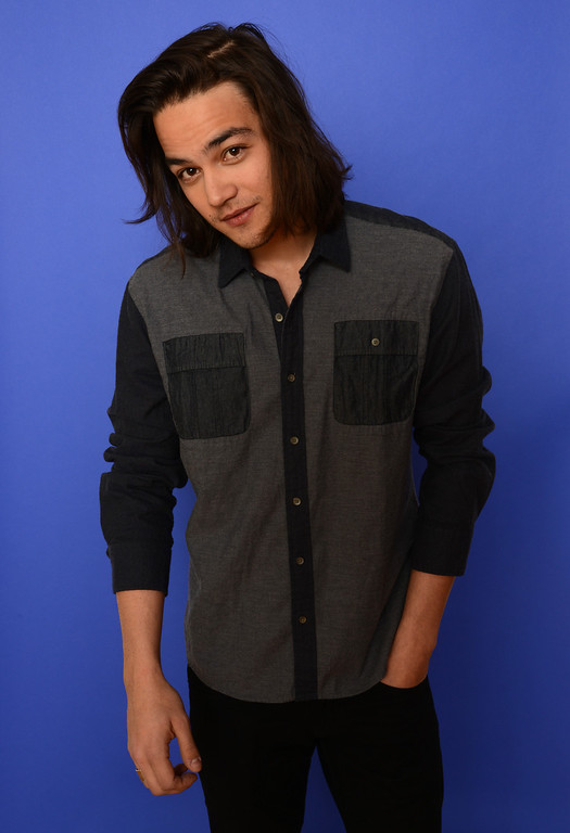 . Actor Daniel Zovatto poses for a portrait during the 2014 Sundance Film Festival at the WireImage Portrait Studio at the Village At The Lift on January 20, 2014 in Park City, Utah.  (Photo by Larry Busacca/Getty Images)
