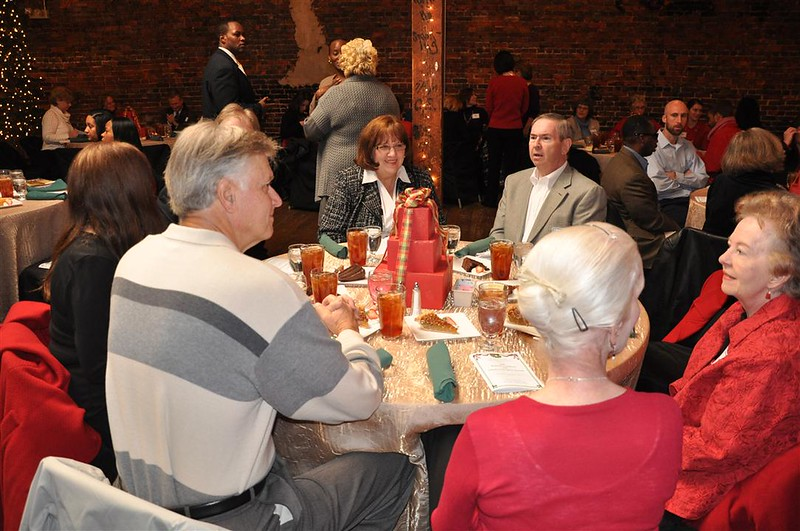 some of Homewood's folks at the holiday luncheon.jpg