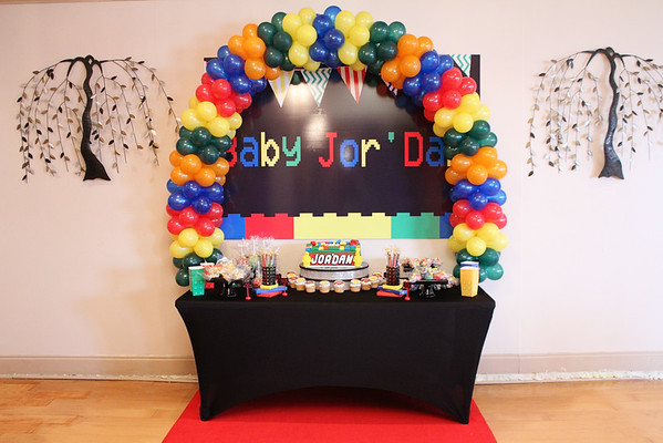 Lego themed Baby shower