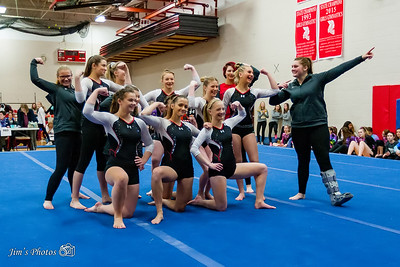HS Sports - Mt Horeb Gymnastics Dance [d] Jan 06, 2018
