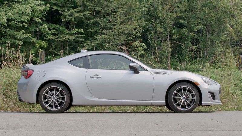 2017 Subaru BRZ Limited HZE Parked Reel