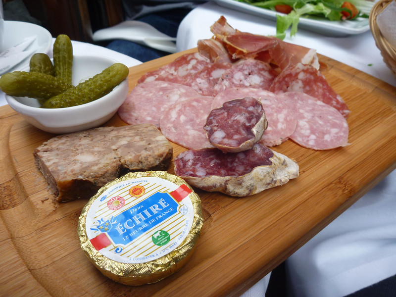 charcuterie plate - their butter is so much better *Le Bastille