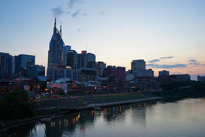 Downtown Nashville Tennessee - Covid-19 Style