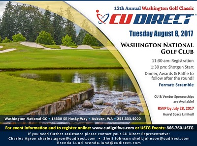 12th Annual CU Direct Washington Golf Classic