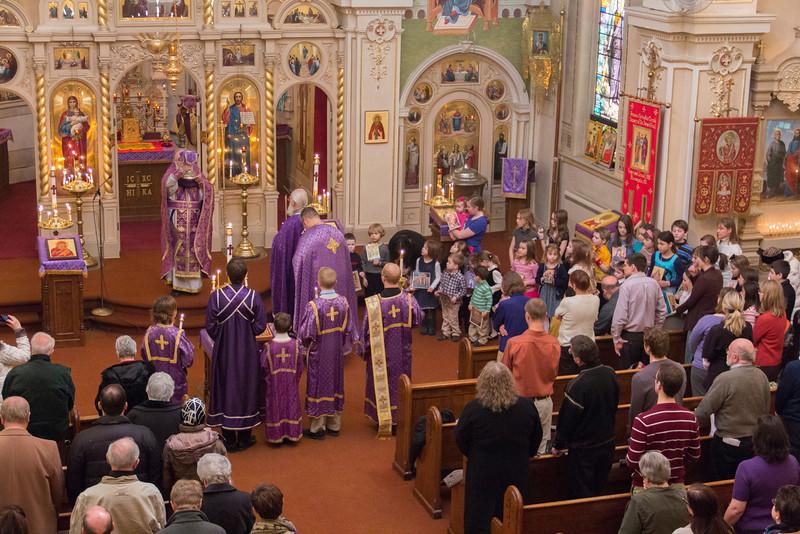 Orthodoxy Sunday Liturgy
