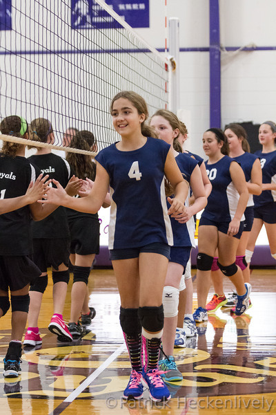 2013-09-16 Hillsdale Academy Girl's Junior High Volleyball vs. Jackson Christian