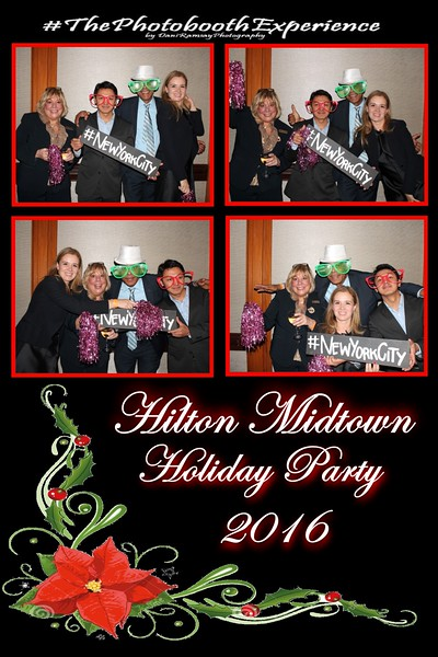 Hilton Holiday Party 12/18/15