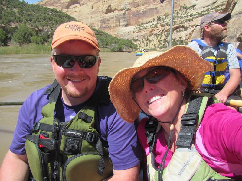 My honey and me with Matt Good