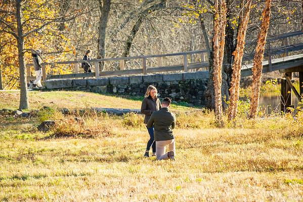 Jakes Stunning Fall Surprise Proposal Boston