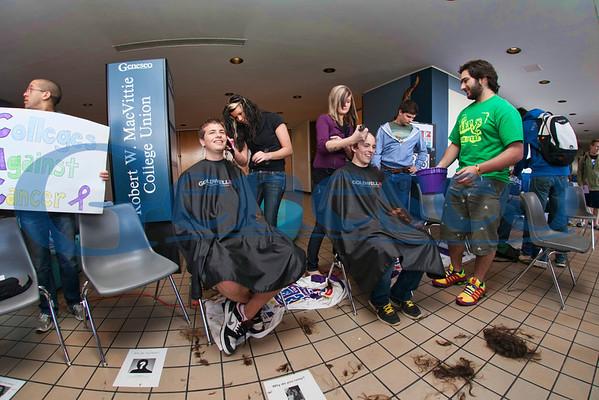 Bald For Bucks - College Union