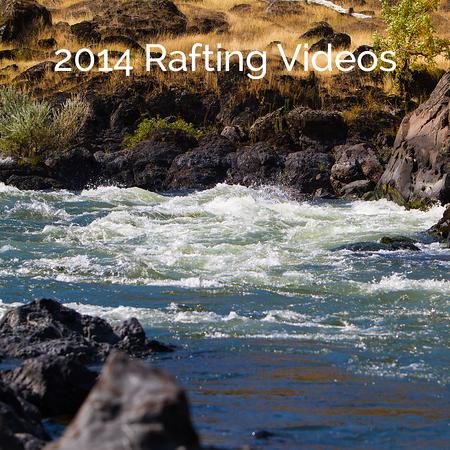 2014 Rafting Videos