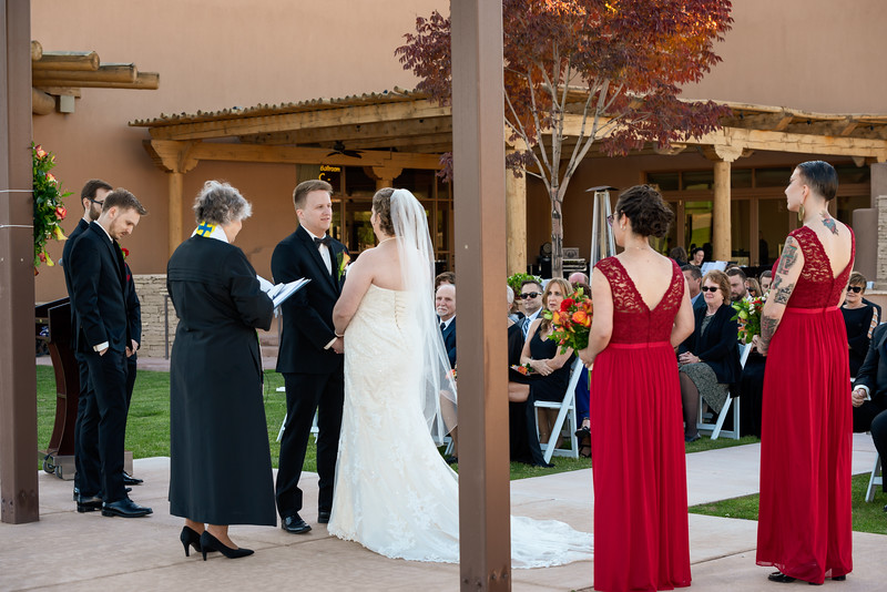 Sandia Hotel Casino New Mexico October Wedding Ceremony C&C-94.jpg