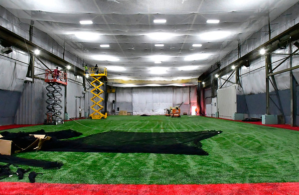 3/7/2019 Mike Orazzi | Staff A new multi-sport facility in Plainville called All Access Sports on Neal Court.