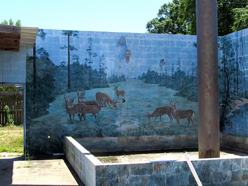 Cross and Mural