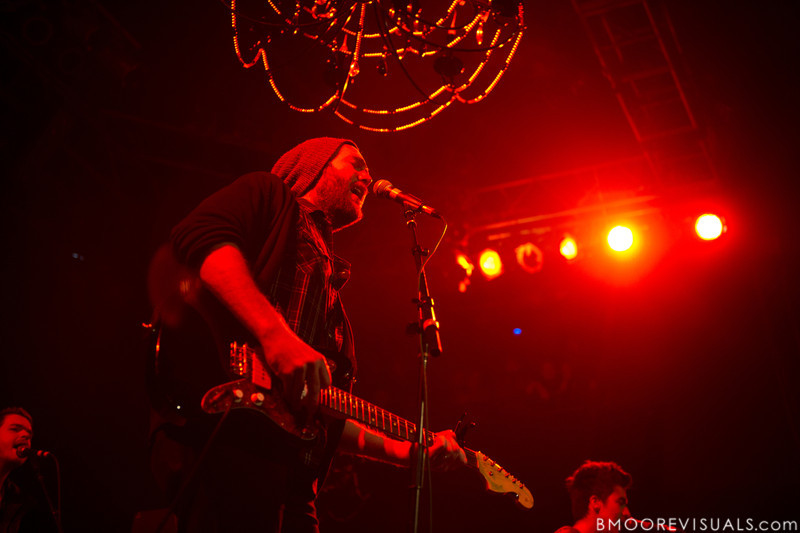 John Mark McMillan performs on November 11, 2011 at House of Blues in Orlando, Florida