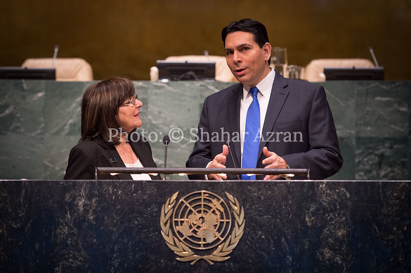 Israel Mission to the UN - 2015 International Day of Commemoration in memory of the victims of the Holocaust ceremony