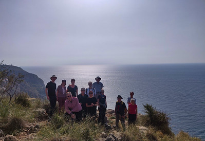 Cerro Caleta & Cantajirran Coastal Walk   20 Feb 2019