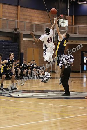 2009 02 20 JV Basketball Game vs. Southfield
