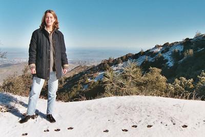 Snow on Mt. Diablo
