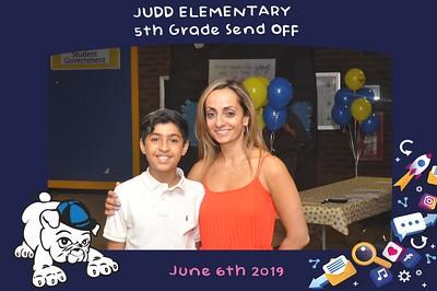 Judd Elementary 5th Grade Sendoff-6/6/2019