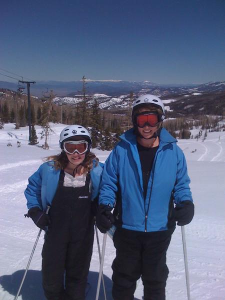 Me and Emily at navajo peak