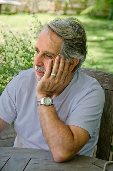 David sitting for his portrait (2)