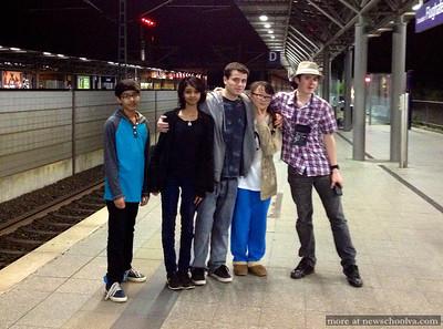 German Trip Spring 2014