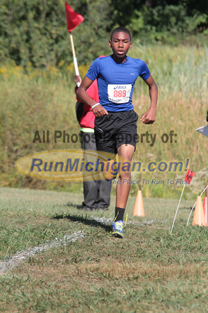 Middle School 1.5 Mile Finish - 2012 Running Fit–Detroit Titan XC Invite