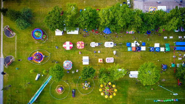 Broadview Heights Home Days Drone Photos