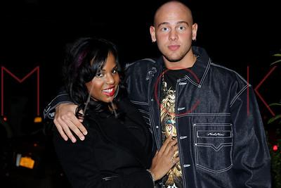 NEW YORK, NY - NOVEMBER 10:  Casey Cartel and Kelly Linton seen at Cebu Restaurant on November 10, 2012 in New York City.