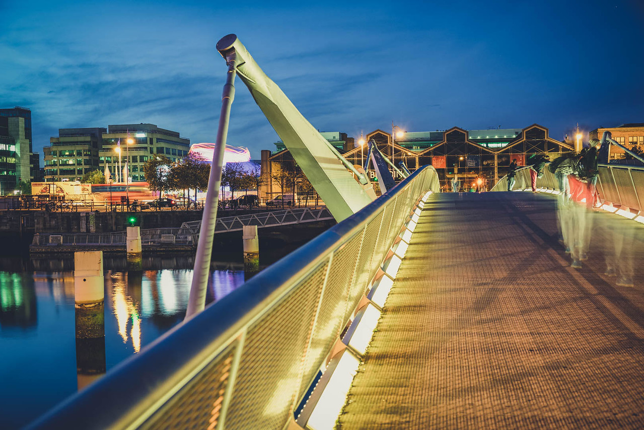 millenium bridge living cost ireland image