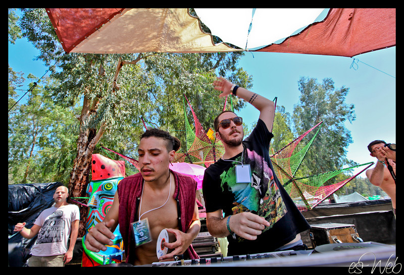 Doof festival north of  Israel , passover 2011