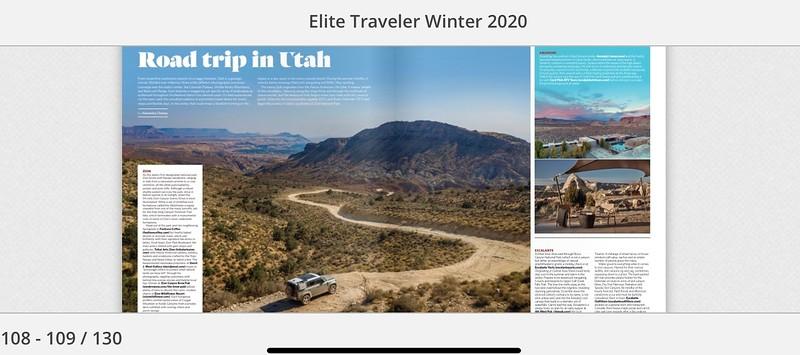 Elite traveler cover photo