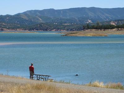 Lake BERRYESSA. June2010