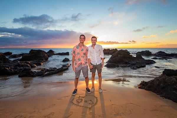 Justin and Danilo