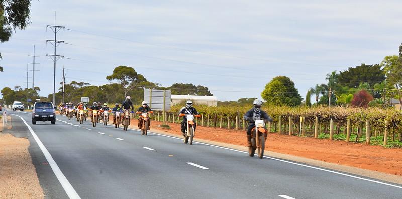 Bikes through Monash