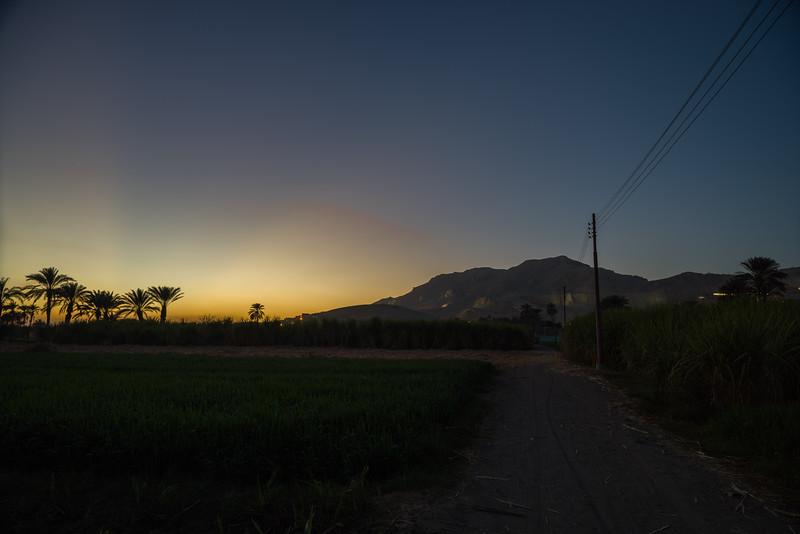 Camino de una aldea cercana al hotel Marsam