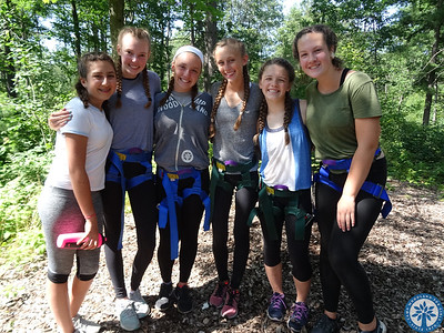 Counselors In Training - Ropes Course Excursion