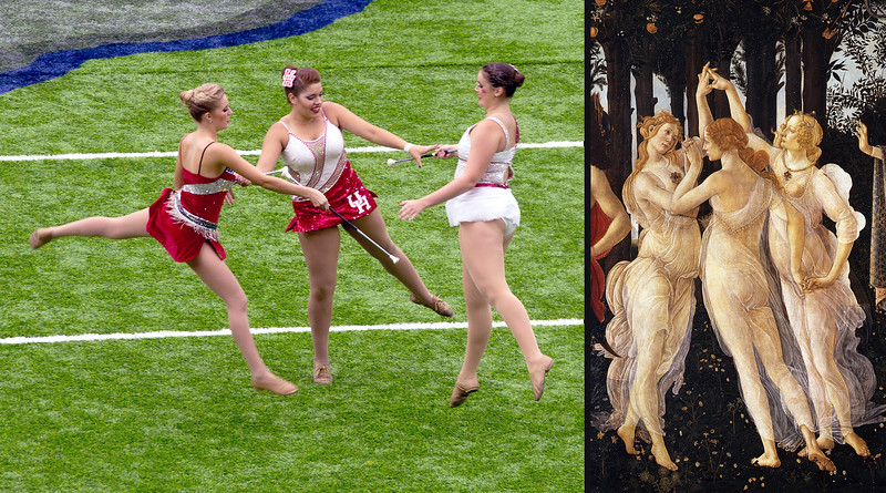 ... but the twirlers remind me of something ...