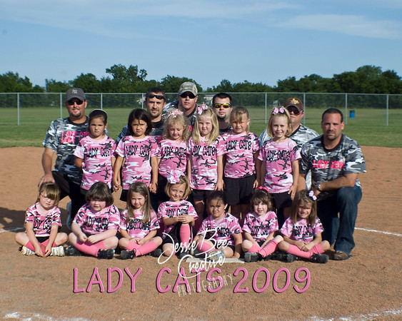 Lady Cats T-Ball 2009