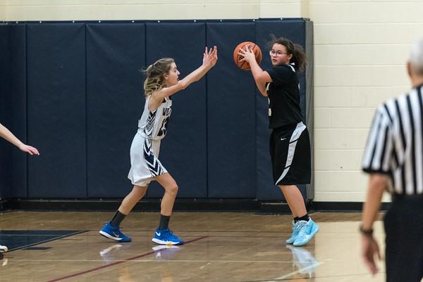 2020 Girls JV2 Basketball vs. St. Helens