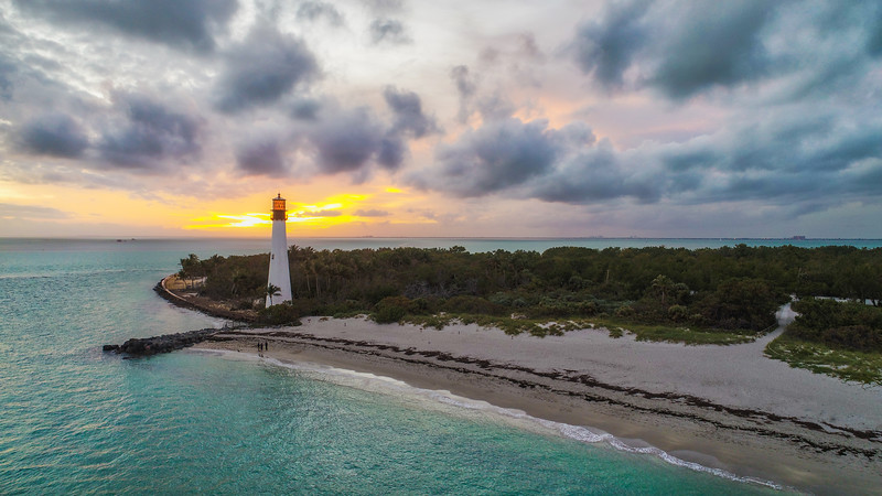 The Lighthouse In Key Biscayne