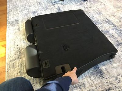 Black comfort seats