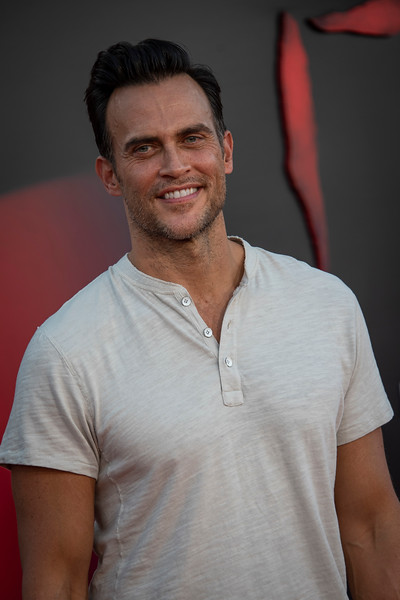 "WESTWOOD, CA - AUGUST 26: Cheyenne Jackson attends the Premiere Of Warner Bros. Pictures' ""It Chapter Two"" at Regency Village Theatre on Monday, August 26, 2019 in Westwood, California. (Photo by Tom Sorensen/Moovieboy Pictures)"