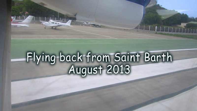 Flying back from Saint Barth.mpeg