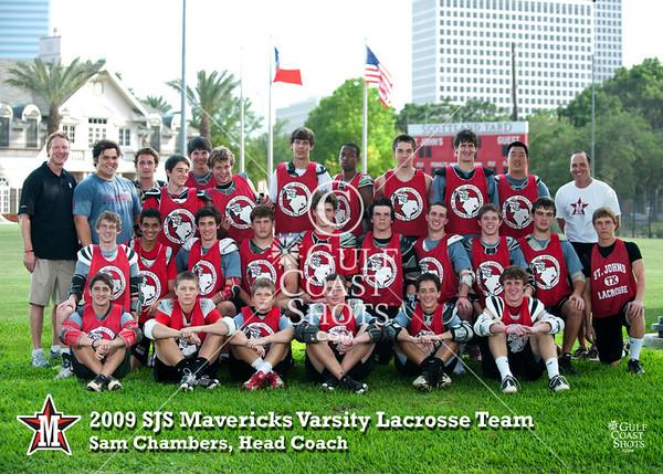 2009-05-06 Lacrosse Varsity SJS Team Photo