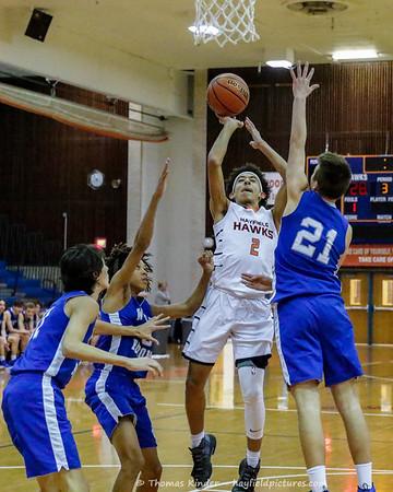 Boys JV Basketball v West Potomac 1/31/19