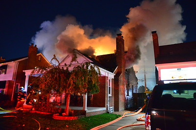 Dearborn Heights - Mayburn street - House Fire